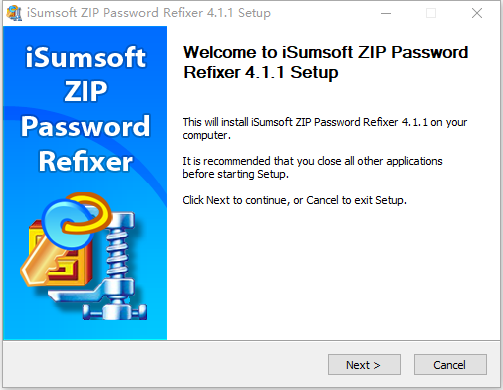 iSumsoft ZIP Password Refixer软件 4.1.2 免费版