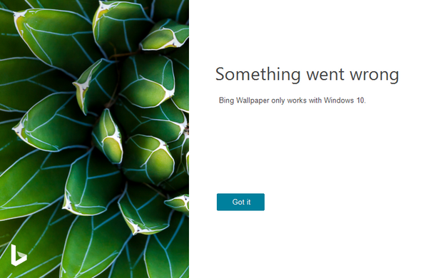 Bing Wallpaper截图