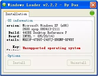 windows loader截图2