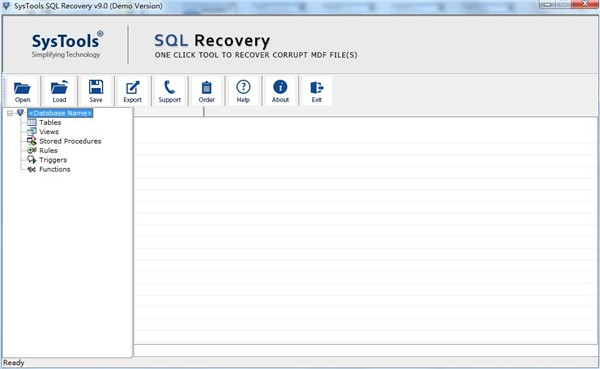 SysTools SQL Recovery截图3